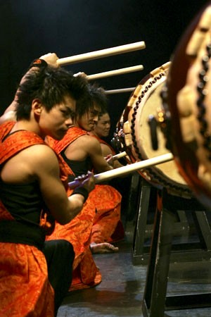 Yamato Drummers of JapanPhoto courtesy of Sadler's Wells