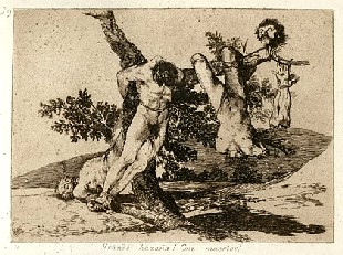 Francisco de Goya: <EM>Great deeds! With dead men!</EM> (Plate 39)