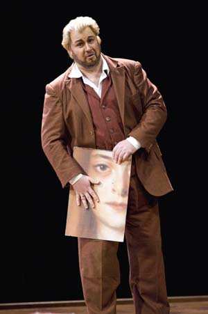 Torsten Kerl (Paul) Photo by Terrence McCarthyPhoto courtesy of San Francisco Opera