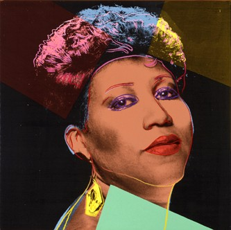 <P>Andy Warhol: <EM>Aretha Franklin</EM>, circa 1986Acrylic and silkscreen ink on canvas101.6 x 101.6 cmThe Andy Warhol Museum, Pittsburgh. Founding CollectionContribution The Andy Warhol Foundation for the Visual Arts, Inc.© The Andy Warhol Foundation for the Visual Arts, IncPhoto courtesy of Musée des beaux-arts de Montréal  </P> • <P> </P>