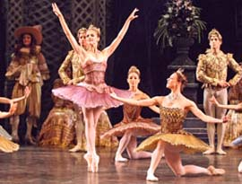 <EM>The Sleeping Ballet</EM>Photo courtesy of English National Ballet