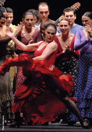 Antonio Gades Company: <EM>Carmen</EM>Photo courtesy of New York Flamenco Festival