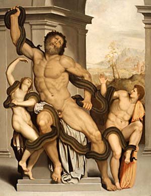 Alessandro Allori (1535–1607), <EM>Laocoon</EM>, c. late 1550sOil on panel, 73 x 57.2 cm.Private Collection, New York.