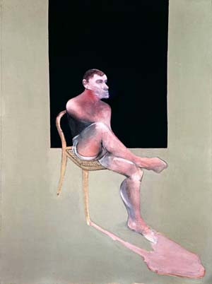 Francis Bacon: <EM>Portrait of John Edwards</EM>Oil on canvas, 198 x 147.5 cm. 1988© The Estate of Francis BaconAll rights reserved. DACS, London 2009 Photo courtesy of The Metropolitan Museum of Art