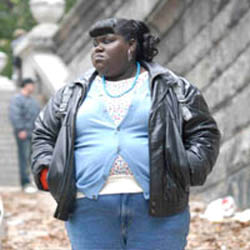 Gabourey Sidibe in <EM>Precious</EM>Lee Daniels, director