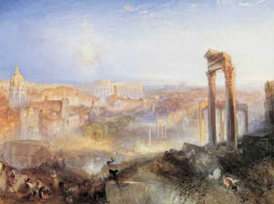 Turner: <EM>Modern Rome – Campo Vaccino</EM>, 1839 National Gallery of Scotland, EdinburghPhoto courtesy of Museum of Fine Arts, Budapest