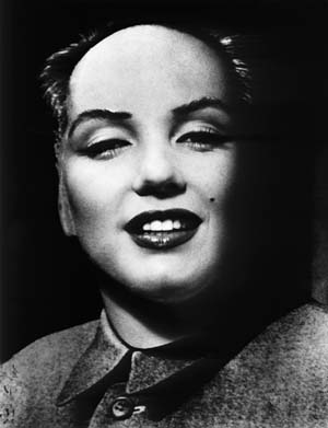 Philippe Halsmann, Mao Marilyn, 1952Collection Gaby and Wilhelm SchürmannPhoto courtesy of