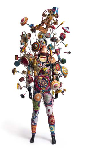 Nick Cave: <EM>Soundsuit</EM>, 2009 Mixed media on mannequin180 x 90 x 50 cm
