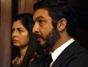 Soledad Villamil and Ricardo Darin in <EM>El secreto de sus ojos</EM> (<EM>The Secret in Their Eyes)</EM>Juan Jose Campanella, director