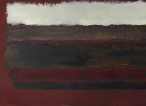Маrк Rothko <EM>No. 30</EM>, 1962 (detail)Oil on canvas, 114.3 cm x 267.3 cmPhoto: G.R. Christmas / Courtesy Pace Gallery New York© 1998 Kate Rothko Prizel & Christopher Rothko / Artists Rights Society (ARS), New YorkPhoto courtesy of The Garage Center for Contemporary Culture