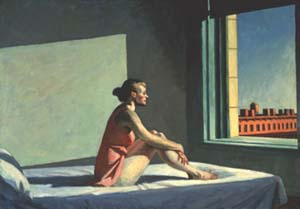 Edward Hopper: <EM>Morning Sun,</EM> 1952Oil on canvas, 71,44x101,93 cmColumbus Museum of Art, Ohio; acquisizione dal Howald Fund, 1954.031