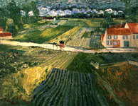 Auvers country side after the rain - Van Gogh (1890)