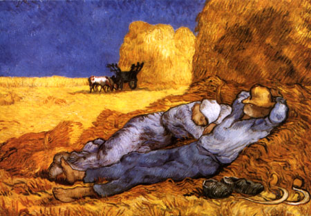 The Siesta - Van Gogh