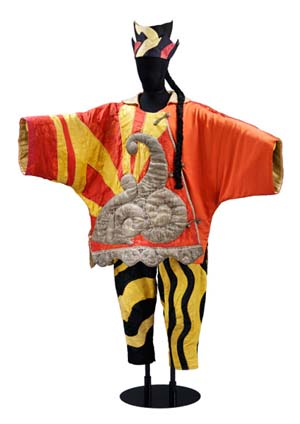 Costume for the Chinese Conjuror from <EM>Parade</EM>Designed by Pablo Picasso, 1917Museum no. S.84&A-1985