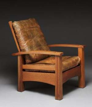 Gustav Stickley: Reclining chair