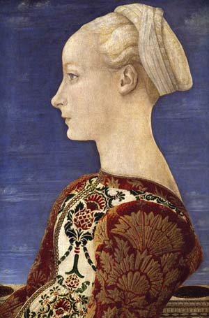 Antonio Pollaiuolo: <EM>Portrait of a Lady</EM>