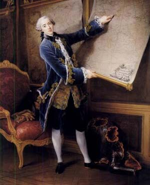 Francois Hubert Drouais: <EM>Comte de Vaudreuil,</EM> 1758The National Gallery