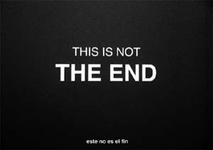 Ignasi Aballí: <EM>This is not the end, </EM><FONT face=Arial>2012Video screening</FONT>