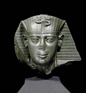 Head attributed to to the Pharaoh Amasis