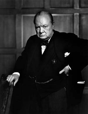 Winston Churchill, 1941© Estate of Yousuf Karsh