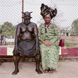 Pieter Hugo: <EM>Chris Nkulo and Patience Umeh</EM>Enugu, Nigeria, 2008