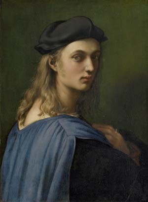 Raphael: Portrait of Bindo Altoviti, circa 1516-1518. Oil on wood © Image courtesy of the National Gallery of Art, Washington.