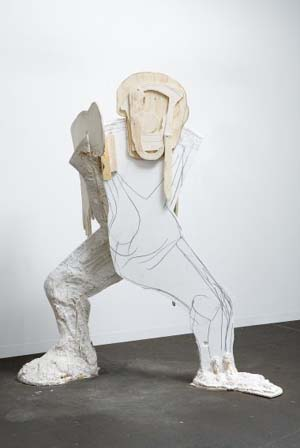 Thomas Houseago: <EM>Astronaut No. 1</EM>, 2008Courtesy the artist and Zabludowicz Collection