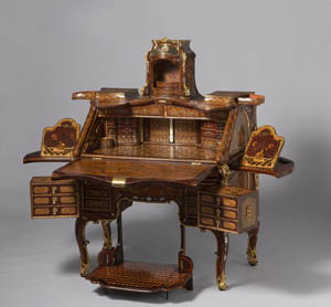 Abraham Roentgen (German, 1711-1793)<EM>Writing Desk,</EM> ca. 1758-62RijksmuseumAmsterdam (BK-16676)