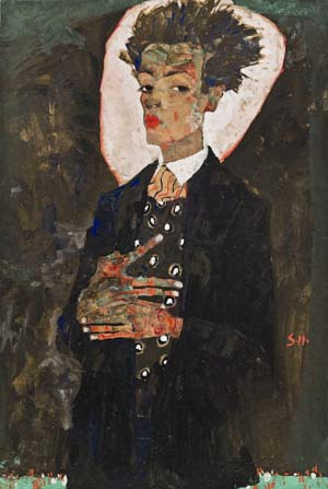 Egon Schiele: Self-portrait