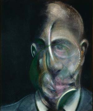 <P>Francis Bacon: <EM>Portrait of Michel Leiris,</EM> 1976Oil on canvas, 35.5 × 30.5 cmLouise and Michel Leiris CollectionPompidou Centre© The Estate of Francis BaconDACS/Licensed by Viscopy</P>
