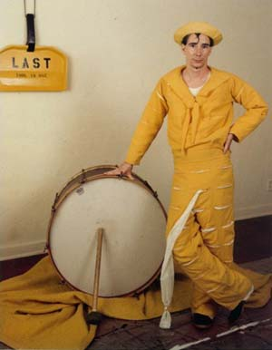 Mike Kelley: <EM>Banana Man Costume</EM>, 1981Courtesy Mike Kelley Foundation for the Arts