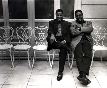 Wayne Shorter and Herbie Hancock