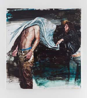 Dan Voinea: <EM>A Momentary Rise of Reason</EM>, 2012oil on linin150x140cm