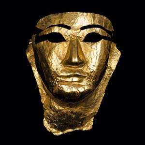 Jean-Baptiste Huynh: Louvre, <EM>Masque En Or </EM>(Gold Mask), 2010