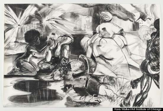 Kara Walker: Rise Up Ye Mighty Race! at the Art Institute of Chicago