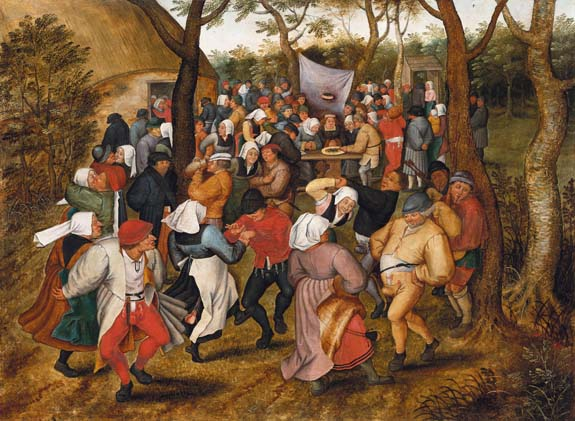 Pieter Bruegel the Elder, A Country Wedding, ca. 1630
