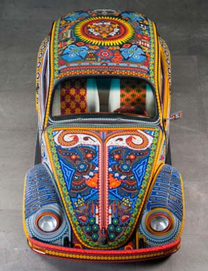 <P>Vochol: Huichol Art on Wheels </P>