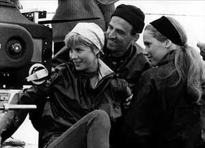 © Norwegian Film InstituteBibi Andersson, Ingmar Bergman and Liv Ullmann
