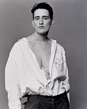 Bettina Rheims: <EM>Martine</EM> 1989 from the series<EM> Modern Lovers</EM>Gelatin silver photographsApprox 54.5 × 44 cm Gift of Edron Pty Ltd 1996 through the auspices of Alistair McAlpine© Bettina Rheims