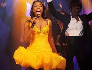 Heather Headley in <EM>The Bodyguard</EM>