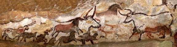 Cave Paintings of Lascaux Hall of Bulls