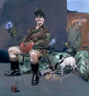 Paula Rego: <EM>The Interrogator's Garden</EM>, 2000Pastel on paper, mounted on aluminium120 x 110 cm Originally commissioned by the Foundation For Victims of Torture