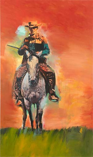 Richard Prince: Untitled <EM>(Cowboy),</EM> 2012Inkjet and acrylic on canvas80 1/4 x 48 inches  (203.8 x 121.9 cm