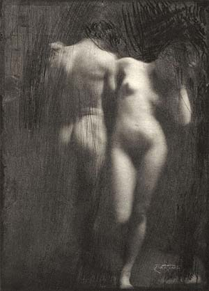 Frank Eugene (Smith): <EM>Adam and Eve</EM>, 1898/99© Staatliche Museen zu Berlin, Kunstbibliothek