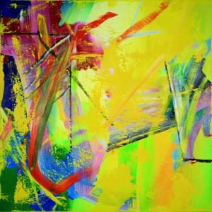Gerhard Richter: <EM>Abstract painting (555),</EM> 1984© Gerhard Richter 2012