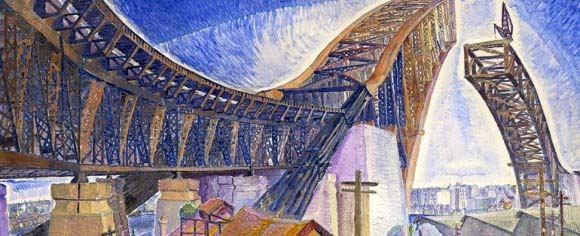 Grace Cossington-Smith: The Bridge In Curve from 1930