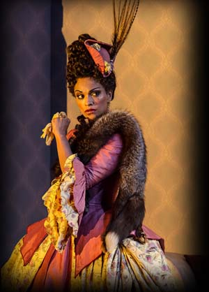 Danielle de Niese as Norina in <EM>Don Pasquale</EM>
