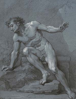 "<SPAN class=pie _extended=""true"">Rene-Antoine Houasse: <EM>Narcissus at the fountain</EM>, 1686 ©ENSBA, Paris</SPAN>"