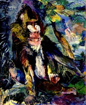 Oskar Kokoschka: <EM>Mandrill</EM>, 1926Collection Museum Boijmans Van Beuningen