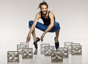 Savion Glover: <EM>STePz</EM>Photo: Courtesy Savion Glover Productions